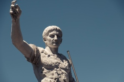 It's not widely known, but Caesar's legions did make it to Nevada and erected a statue in his honour.